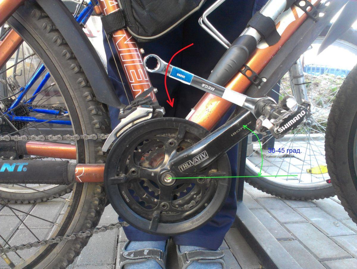 Прокручиваются педали на велосипеде под нагрузкой: что делать?