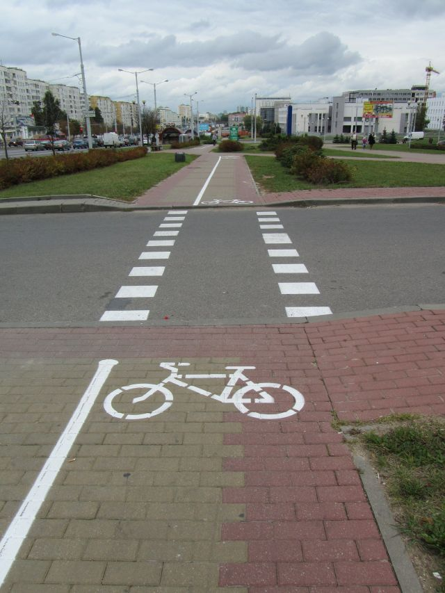 В пдд появилась «велосипедная зона»