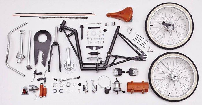 Как собрать велосипед из запчастей?