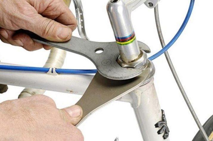 Установка вилки на велосипед