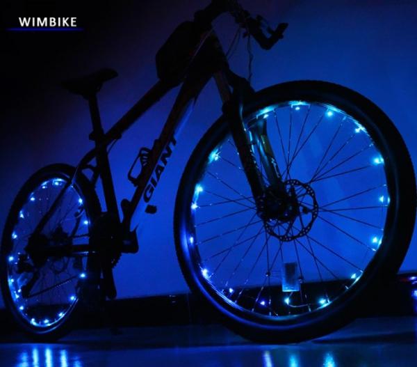 Как сделать подсветку на велосипед своими руками (светодиодную, колес)