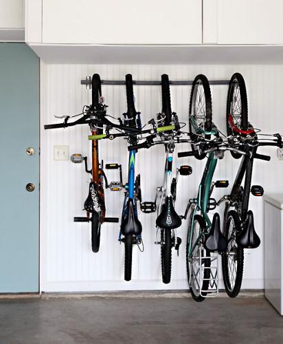 Хранение велосипеда в квартире: идеи, способы, системы, основные правила