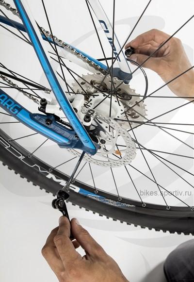 Как разобрать или собрать заднее колесо скоростного велосипеда | ремонт и уход | veloprofy.com