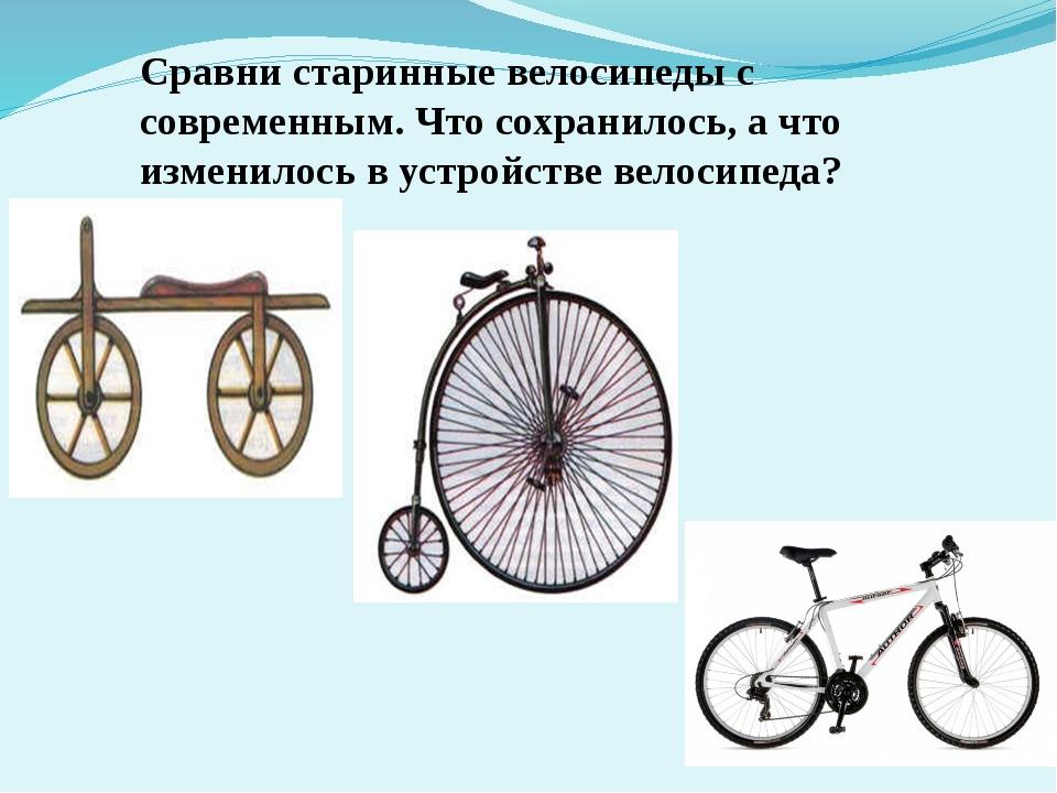 Кто и когда изобрел велосипед