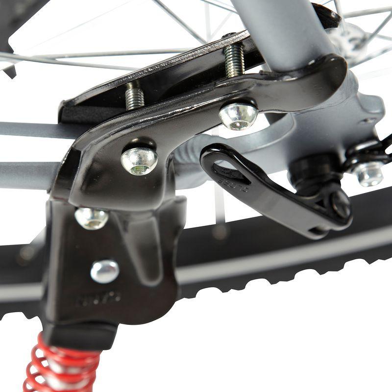Велосипедная подножка: центральная и задняя, установка подножки для велосипеда