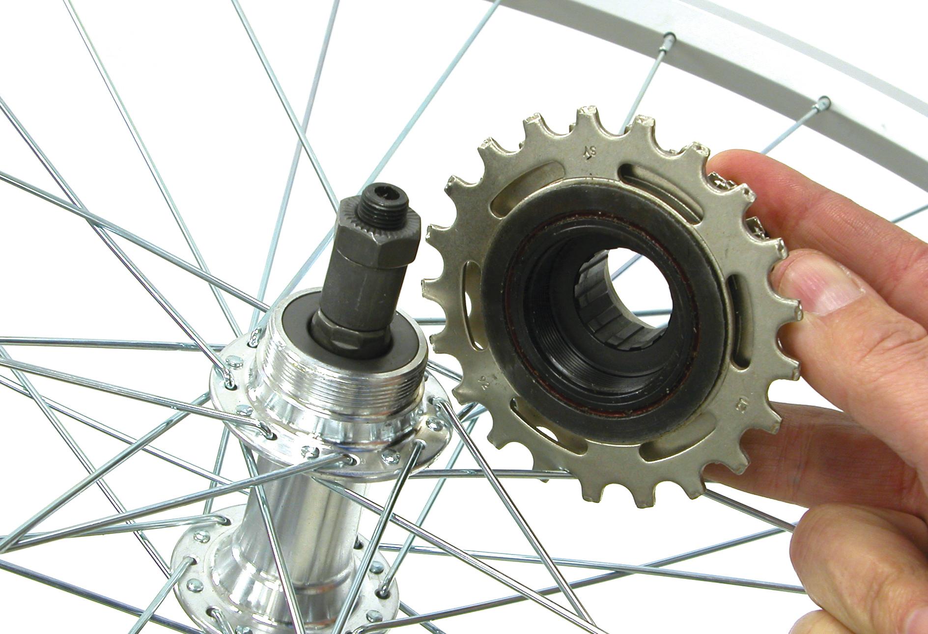 Как снять звездочку с заднего колеса велосипеда