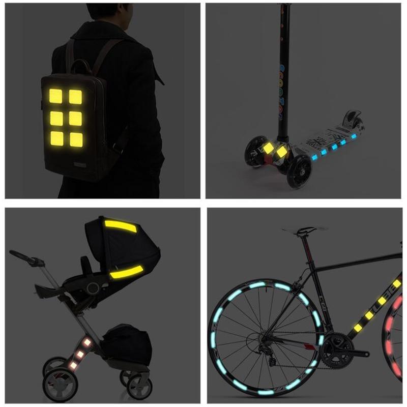 Использование светоотражателей