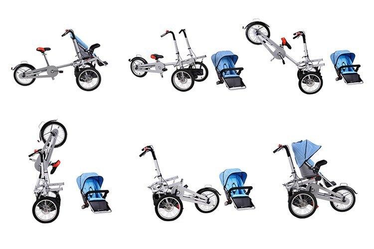Взрослые велосипеды с коляской