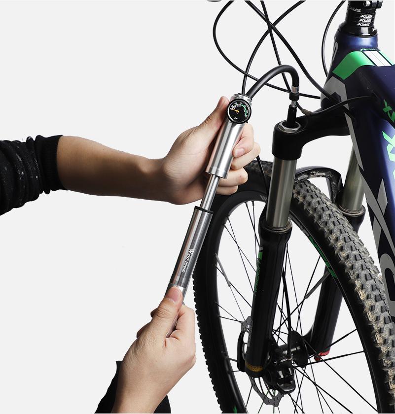 Как подобрать велосипедный насос высокого давления?