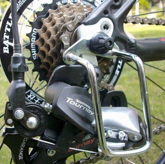 Зачем нужна защита пера и как ее сделать своими руками - всё о велоспорте