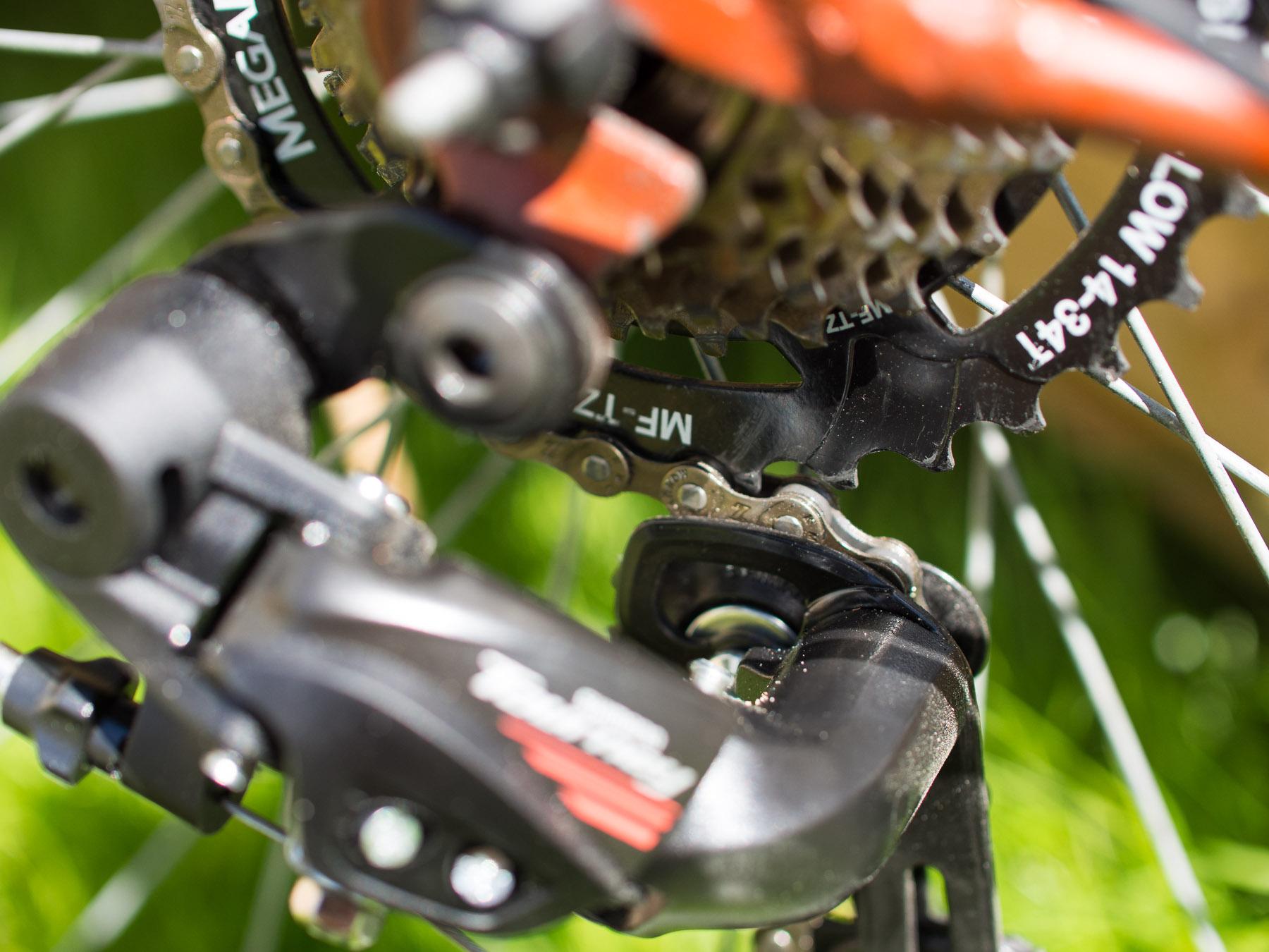 Как настроить задний переключатель скоростей на велосипеде