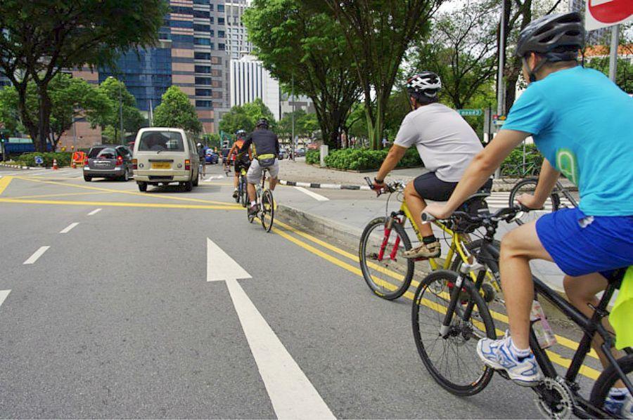 Правила дорожного движения для велосипедистов школьного возраста и старше