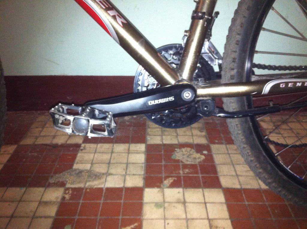 Как снять шатуны с велосипеда