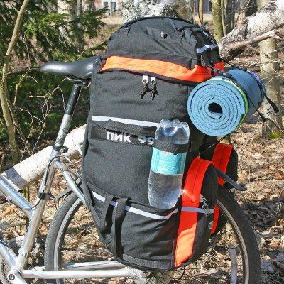Как выбрать рюкзакак велоштаны на багажник, лучшие модели