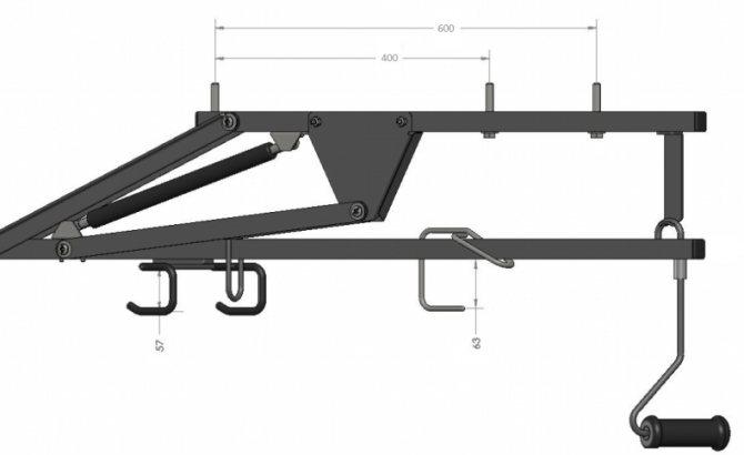 Как подвесить велосипед к потолку: виды потолочных креплений
