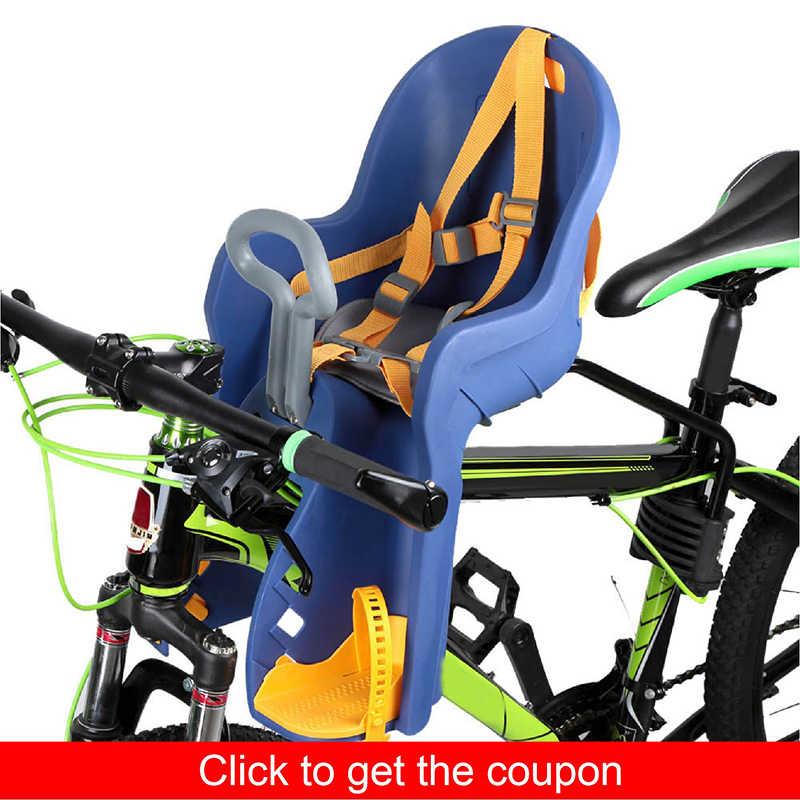 Как выбрать кресло на велосипед для ребенка, лучшие модели