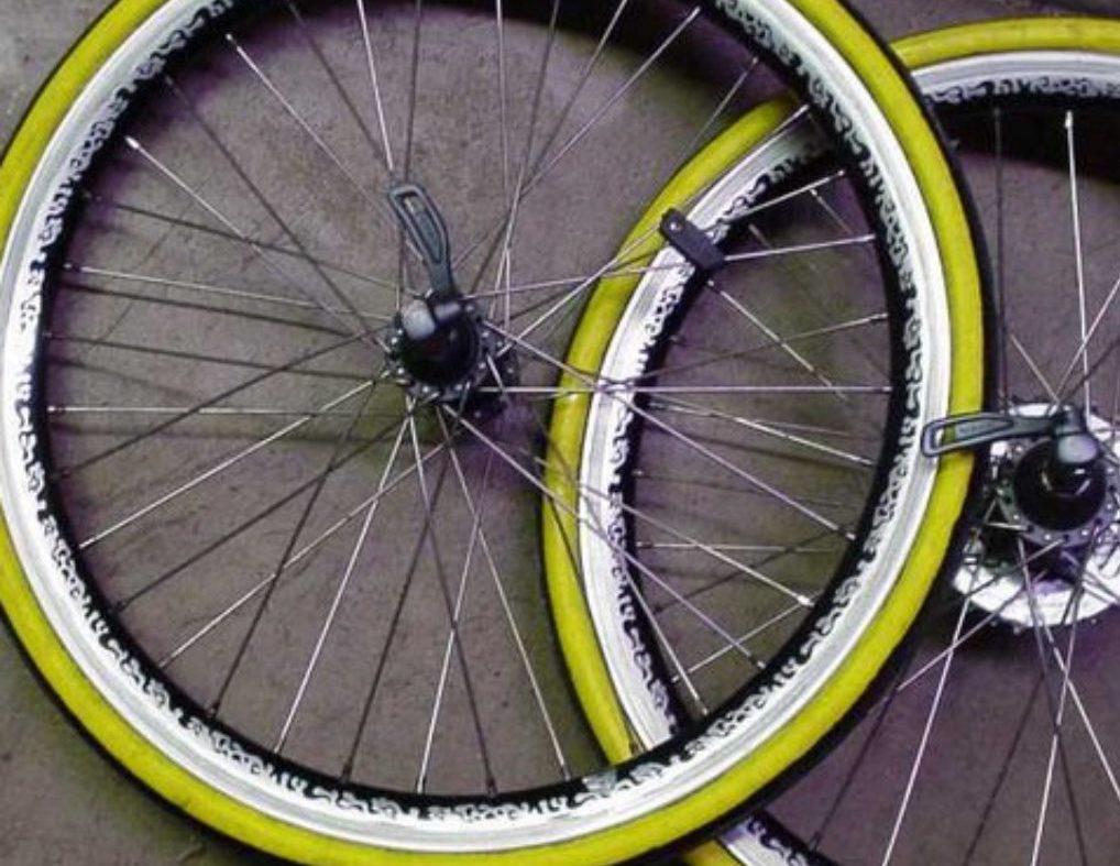 Протектор на шинах для велосипеда