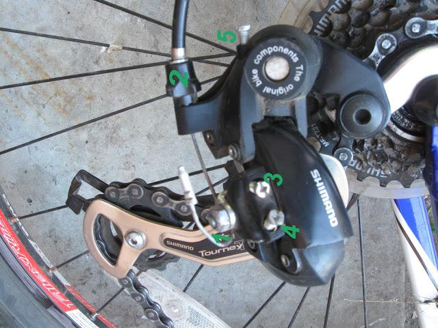 Замена тросика переключения скоростей на велосипеде