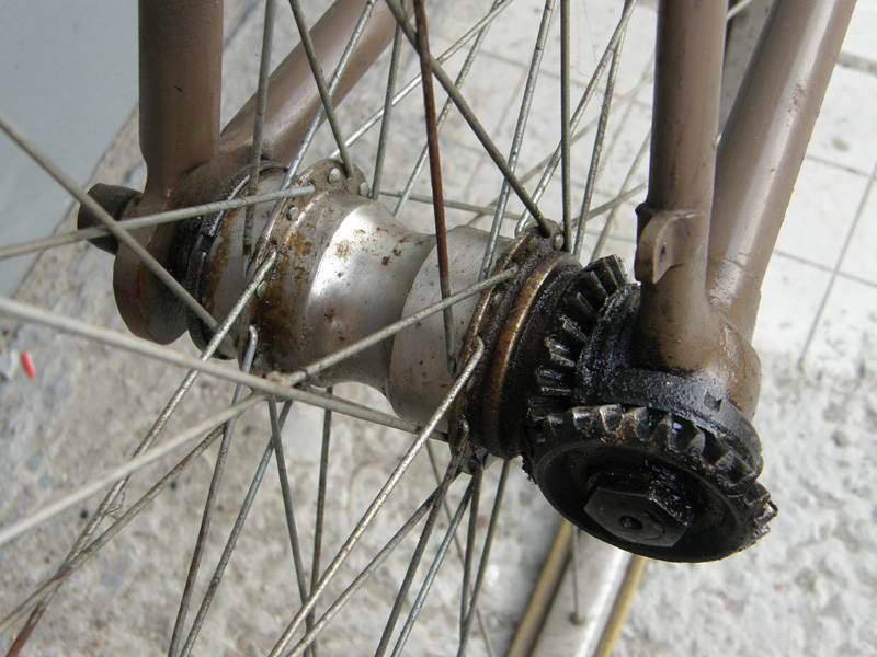 Как сделать велосипед с карданным валом вместо цепи?