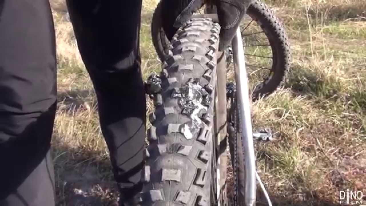 Как заклеить камеру колеса велосипеда