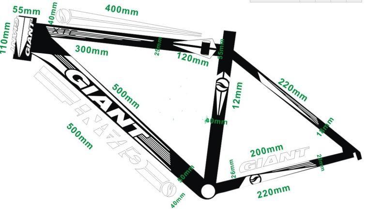 Зачем нужны наклейки на велосипед на раму?