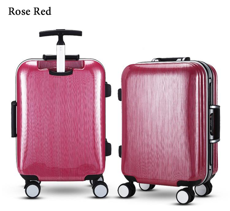Каких размеров бывают чемоданы на колесиках?