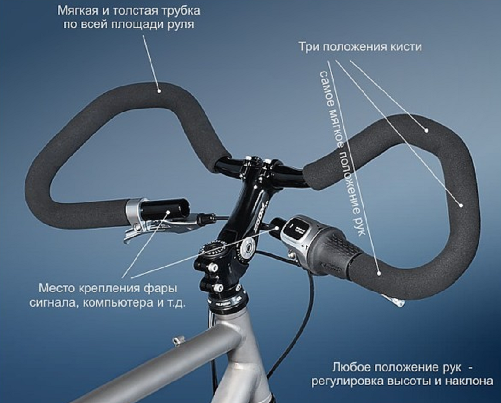 Самостоятельный подъём руля на горном велосипеде