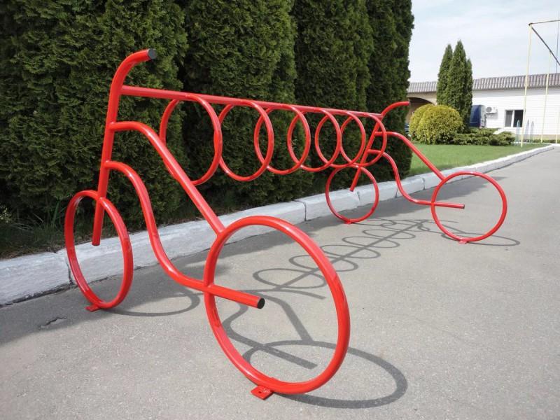 Стойло для двухколесного друга. топ-10 самых необычных велосипедных парковок