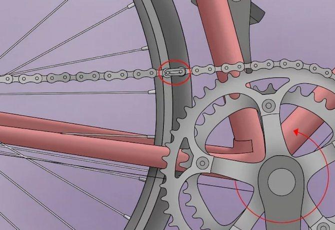 Как заменить цепь на велосипеде - пошаговая инструкция