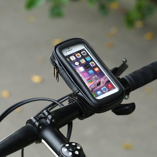Держатель для телефона на велосипед своими руками, крепление кронштейна на раму или руль, фото