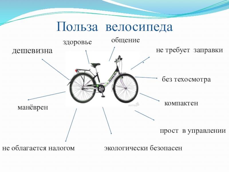 Вред велосипеда для мужчин