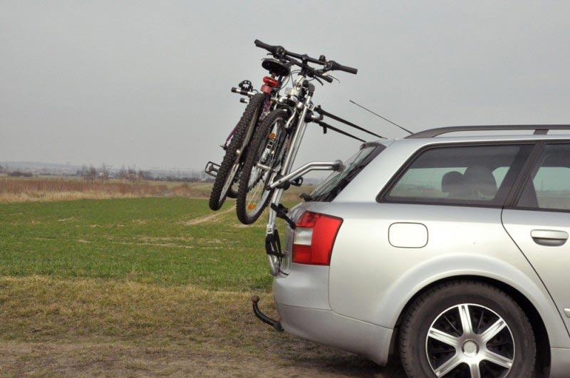 Велобагажник на заднюю дверь автомобиля — плюсы и минусы, советы по подбору, модели, цены, отзывы