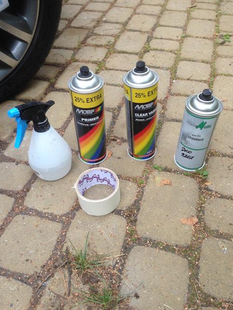 Как покрасить велосипед?