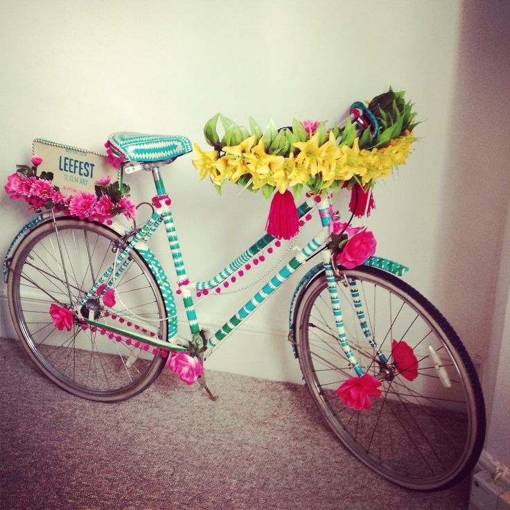 Как украсить велосипед в домашних условиях?