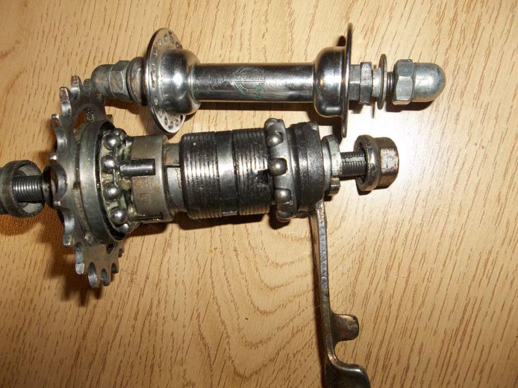 Устройство, ремонт и схема сборки задней втулки велосипеда