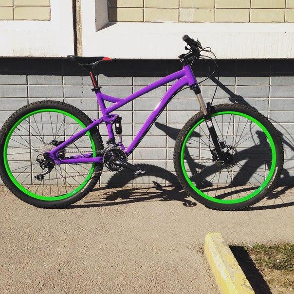 Как быстро и качественно покрасить велосипед в домашних условиях