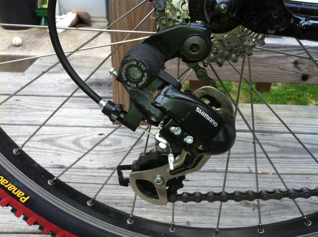 Как настроить задний переключатель на велосипеде, видео инструкция