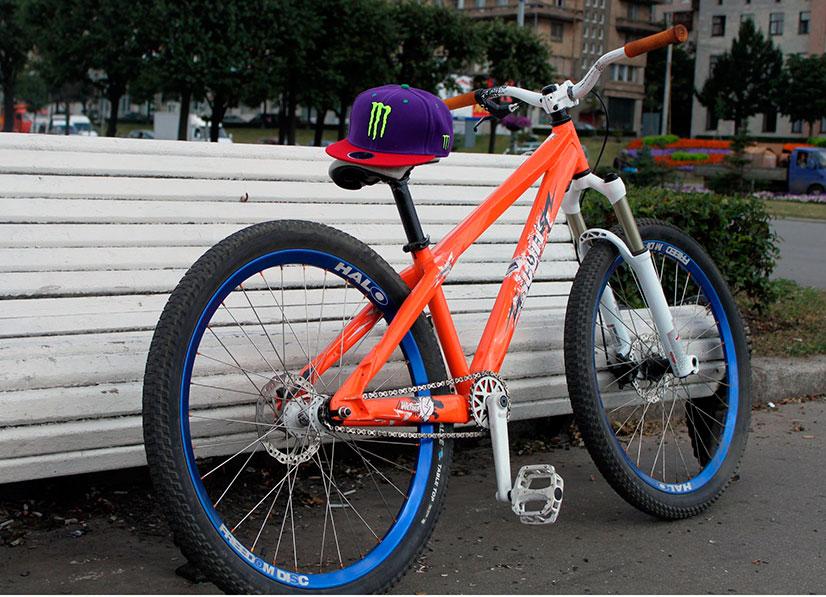 Велосипеды для дёрта (dirt) и стрита