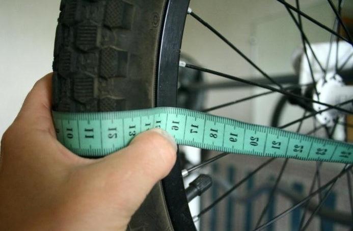 Диаметр колеса велосипеда как определить
