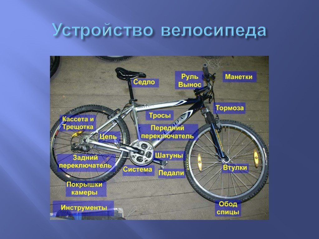 Устройство горного велосипеда: новичкам на заметку - велосипед-инфо