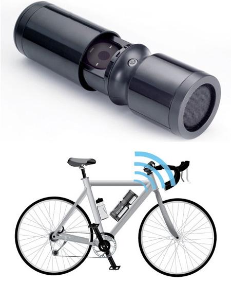 Выбираем портативную колонку для велосипеда. обзор велоакустики