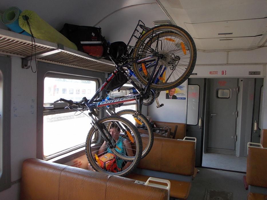 Провоз велосипеда в электричке, подготовка, оформление, важные нюансы