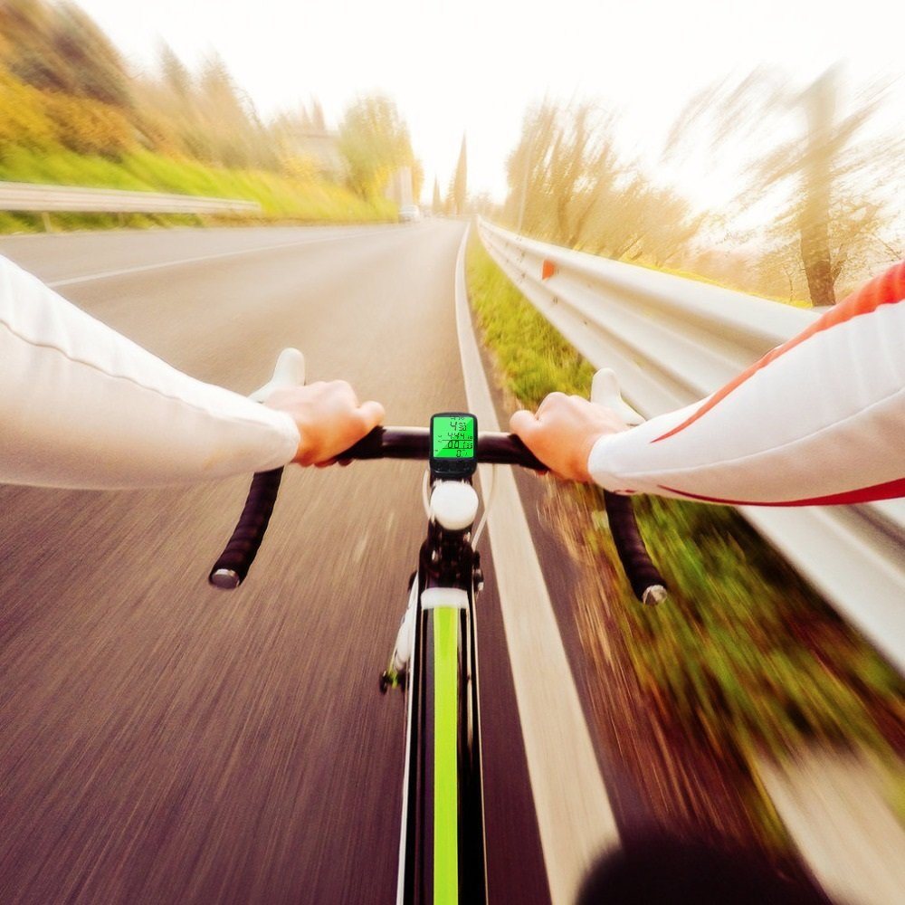 Максимальная скорость на велосипеде по прямой