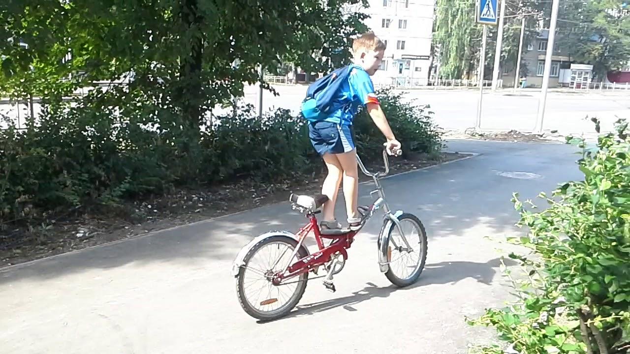 Велосипедные трюки и их разновидности - velo style