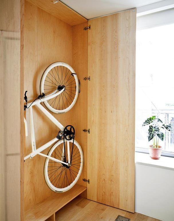Как хранить велосипед в квартире зимой: полезные советы с фото
