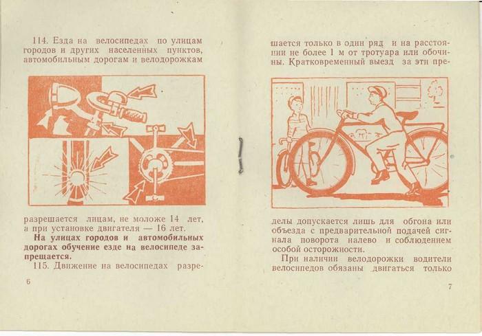 Водительские права на велосипед
