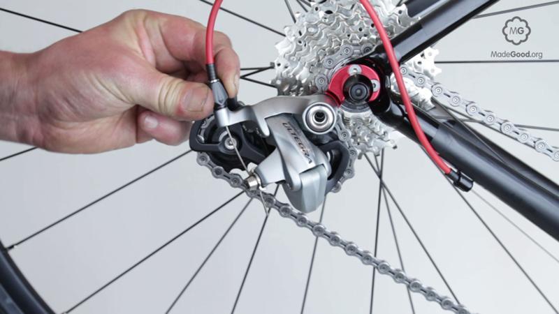 Регулировка велосипеда (тормозов, переднего переключателя, перекидки)