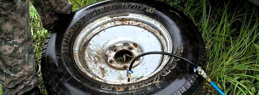 Как самому разбортировать колесо на литом диске