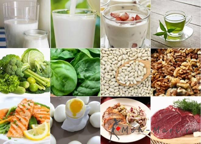 Питание для людей старше 50