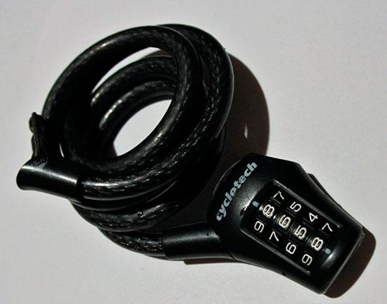 Кодовый замок для велосипеда - что делать если забыл код и как открыть